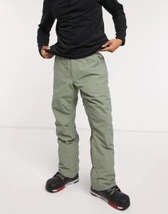 Зеленые лыжные брюки Quiksilver-Зеленый
