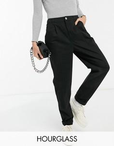 Черные брюки-чиносы ASOS DESIGN Hourglass-Черный