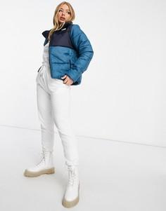 Синяя дутая куртка The North Face Saikuru-Синий