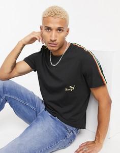 Черная футболка Puma Unity-Черный