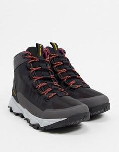 Серые ботинки Columbia Flow Borough-Серый