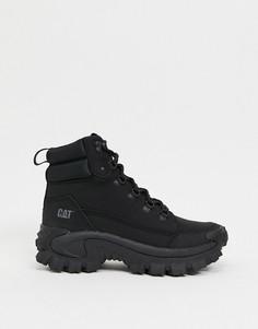 Черные ботинки на толстой подошве CAT Trespass-Черный Caterpillar