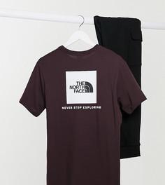 Коричневая футболка The North Face эксклюзивно на ASOS-Коричневый