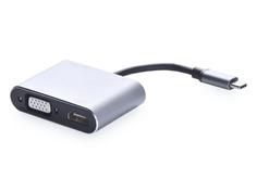 Переходник iNeez USB Type-C to HUB 4in1 PD/HDMI/VGA/USB Support 4K Grey 911492