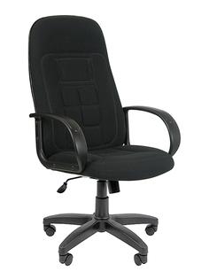 Компьютерное кресло Chairman 727 Black 1081743 + подарочный сертификат (200 руб)