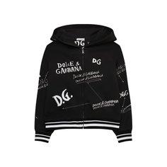 Хлопковая толстовка Dolce & Gabbana
