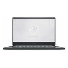 """Ноутбуки Ноутбук MSI WS66 10TL-292RU, 15.6"""", IPS, Intel Core i7 10875H 2.3ГГц, 32ГБ, 1000ГБ SSD, NVIDIA Quadro RTX 4000 - 8192 Мб, Windows 10 Professional, 9S7-16V215-292, серый"""