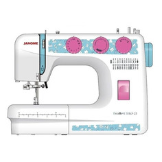 Швейная машина JANOME Excellent Stitch 23 белый