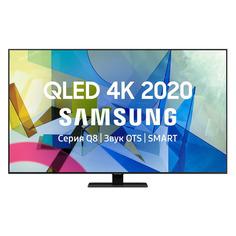 "QLED телевизор SAMSUNG QE50Q80TAUXRU, 50"", Ultra HD 4K"