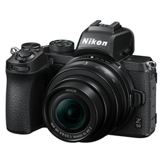 "Цифровые фотоаппараты Фотоаппарат Nikon Z50 черный 20.9Mpix 3.2"" 4K WiFi Nikkor Z DX 16-50 f/3.5-6.3 VR EN-EL25"