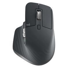 Мышь LOGITECH MX Master 3 Advanced, оптическая, беспроводная, USB, графитовый [910-005694]