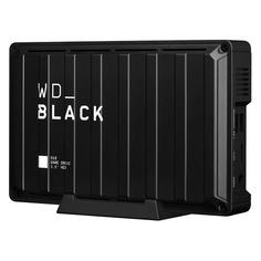 Внешний жесткий диск WD D10 Game Drive WDBA3P0080HBK-EESN, 8ТБ, черный