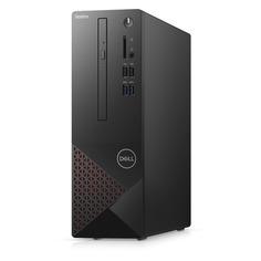 Компьютер DELL Vostro 3681, Intel Core i3 10100, DDR4 4ГБ, 1000ГБ, Intel UHD Graphics 630, DVD-RW, CR, Linux, черный [3681-3311]
