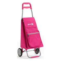 Рюкзаки, чемоданы, сумки Сумка-тележка Gimi 154358/154672 37x96x33см 45л. 1.8кг. розовый