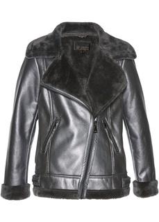 Куртка с искусственном мехом Bonprix