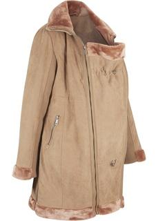 Куртка из искусственной кожи для беременных и молодых мам Bonprix