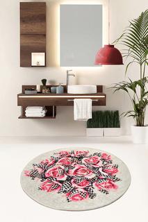 Ковер для ванной d100 см Chilai Home