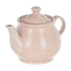 Чайник Башкирский фарфор Классик 600 мл розовый