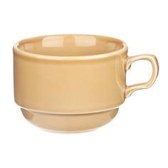 Чашка Башкирский фарфор Браво 250 мл золотисто-коричневый