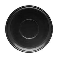 Блюдце Башкирский фарфор Принц 14,5 см чёрный