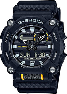 Японские наручные мужские часы Casio GA-900-1AER. Коллекция G-Shock
