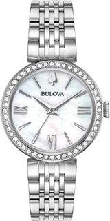 Японские наручные женские часы Bulova 96X153. Коллекция Crystal Ladies