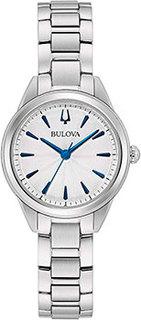 Японские наручные женские часы Bulova 96L285. Коллекция Sutton