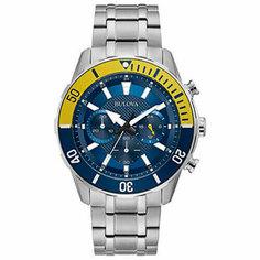 Японские наручные мужские часы Bulova 98A245. Коллекция Sports