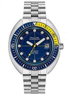 Японские наручные мужские часы Bulova 96B320. Коллекция Oceanographer