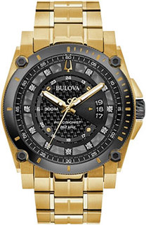 Японские наручные мужские часы Bulova 98D156. Коллекция Precisionist