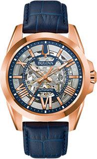 Японские наручные мужские часы Bulova 97A161. Коллекция Sutton