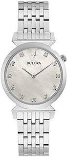 Японские наручные женские часы Bulova 96P216. Коллекция Classic