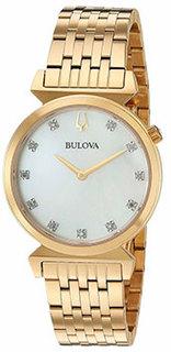 Японские наручные женские часы Bulova 97P149. Коллекция Classic