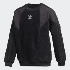 Флисовый свитшот adidas Originals