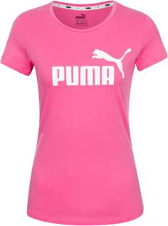 Футболка женская Puma Ess Logo, размер 42-44