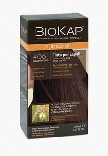 Краска для волос Biokap кофейно-коричневый 4.06, 140 мл