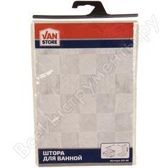 Занавеска в пакете vanstore diffus кремовый полиэстер 180x180 см 621-89
