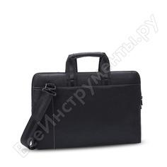 """Сумка для ноутбука и документов rivacase pu laptop bag black slim, 15.6"""" 8930"""