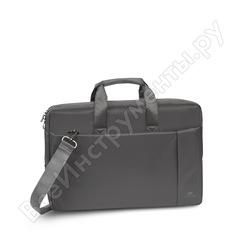 """Сумка для ноутбука и документов rivacase laptop bag grey, 17.3"""" 8251"""