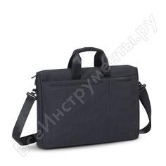 """Сумка для ноутбука и документов rivacase laptop bag black, 17.3"""" 8355"""