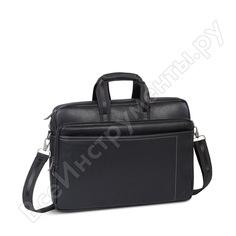"""Сумка для ноутбука и документов rivacase pu laptop bag black full size, 16"""" 8940"""