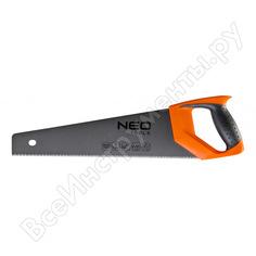 Ножовка по дереву neo 400 мм, 7tpi 41-011