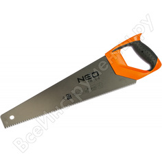 Ножовка по дереву 450 мм (7tpi, ptfe) neo 41-016