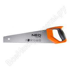 Ножовка по дереву neo 450 мм, 7tpi 41-036