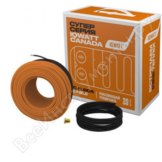 Теплый пол iqwatt iq floor cable-90 039463