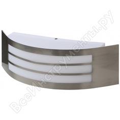 Декоративная подсветка эра wl20 e27 max40w ip44 хром/белый б0034619
