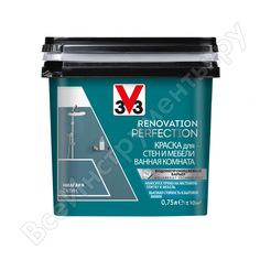 Краска для стен и мебели в ванной комнате v33 renovation perfection-ниагара 119710