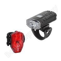 Велосипедный фонарь эра va801 2 в 1, основной, cree, xpg, подсветка, s б0039624