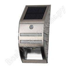 Фасадная подсветка на солнечной батарее эра erfs01226 хром 3led, 50 б0044252