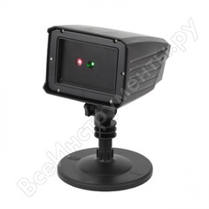 Laser-проектор эра eniop02 дед мороз, мультирежим, 2 цвета, 220v, ip44 б0041643